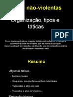 Ações não violentas - organizações, tipos e táticas.pdf