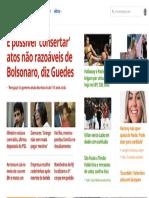G1 Guedes Quer Consertar Bolsonaro