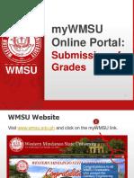 WMSU-ESU - Online Submission of Grades
