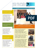 Newsletter 11 - Abril 2019 - CEHP