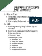 EnP Exam Syllabus 2005-2010