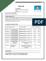 Yuvi Resume