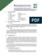 2. Silabo de Epistemología 2017-I COMP. INFORM.