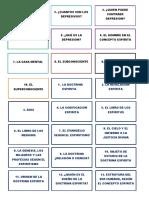 DOCTRINA ESPIRITA - CONCEPTOS
