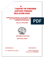 Project Report on Consumer(AKASH).docx