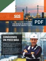Brochure SGS Certificación