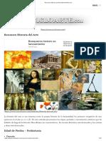 Resumen Historia Del Arte _ EncicloArte.com