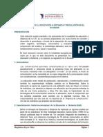 Antecedentes de La Ead y Regulación Ene Le Ecuador