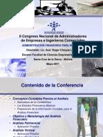 Conferencia Analisis Financiero Para Empresas-Lic. Roger Choque Mayo-2011 [Reparado]