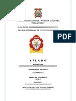 2019 silabos