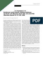 Spirakis_1999_Hydrothermal Uranium Deposits Containing Molybdenum