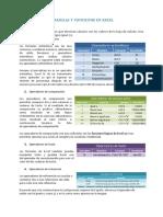 Formulas y Funciones Excel 2016