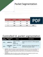 Volte Packet Segmentation