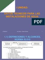 1. Datos Tecnicos para  Instalaciones de Agua.pdf