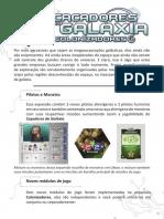 Cacadores Da Galax Folheto de Regras 78609
