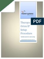 Thuraya Orion IP Setup Procedure Ver 1.0.pdf