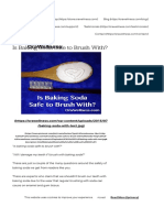 Is baking soda safe to brush with  Can baking soda damage our teeth.pdf