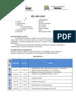 SÍLABO 2019 Aritmetica 2019