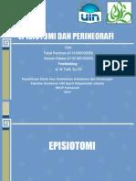 Phantom Episiotomi Dan Perineorafi