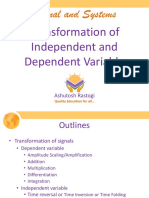 6-Transformation of Independent and Dependent Variable
