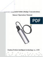 PSS-800 Suspended Solids (Sludge Concentration) Sensor Operation Manual-PBS