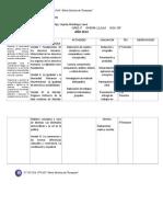 Planificación de Educación Ciudadana de Primero 2014