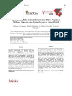 82 - 88 - La Sustentabilidad y El Desarrollo Local en Las Micro, Pequenas y Medianas Empresas Como Detonantes Para Su Competitividad