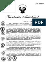 RM 1311 Convenio de Gestion DL 1153