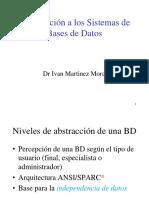 Arquitectura de Base Datos