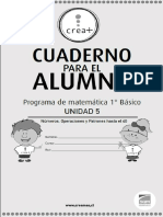 cuadernillo matemática 1° básico