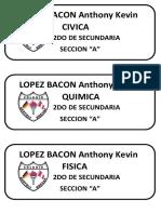 Lopez Bacon Anthony Kevin