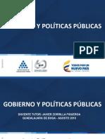 GOBIERNO Y POLITICAS PÚBLICAS miguel vargas