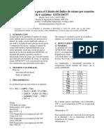Método Estandarizado Para El Cálculo Del Índice de Cetano Por Ecuación de 4 Variables ASTM D4737