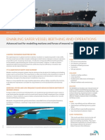 Increasing Safety and Efficiency in Vessel Berthing DHI_Solution.pdf