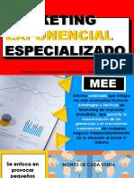 MARKETING EXPONENCIAL ESPECIALIZADO