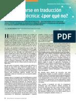 traducción cientifico-tecnica