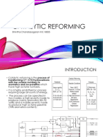Catalytic Reforming- Assignment 2