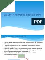 3G Key Performance Indicators (KPI)