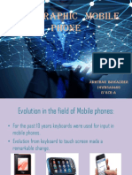 Holographic Mobile Phone New