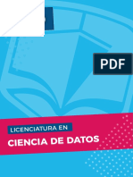 Licenciatura en Ciencias de Datos