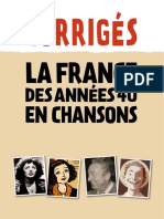 France en Chansons 40 Corriges Piaf(1)