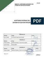 PGI-003 Rev. 4 Auditorias Internas Del SGI