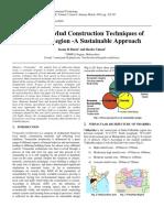 Vernacular Mud Construction Techniques of Vidarbha Region
