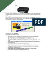 Canon MP287 Error E08 Reset