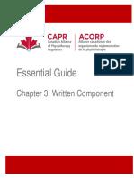 Chapter 3 Written Component