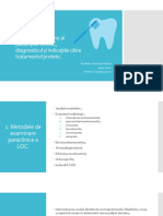 examen paraclinic leziuni odontale coronare