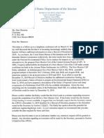 BOR Letter