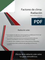 Factores de Clima