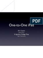 One-to-One iPad