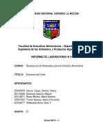 Informe 2 Resistencia de Materiales